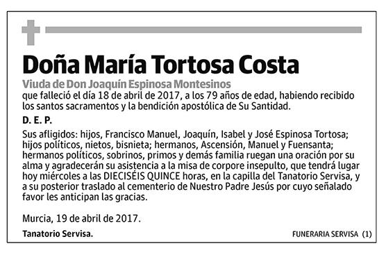 María Tortosa Costa