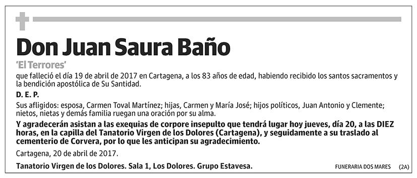 Juan Saura Baño