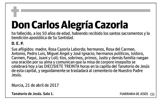 Carlos Alegría Cazorla