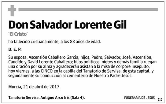 Salvador Lorente Gil