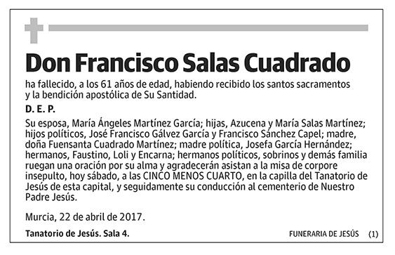 Francisco Salas Cuadrado