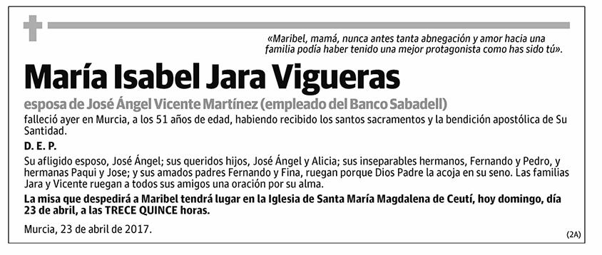 María Isabel Jara Vigueras
