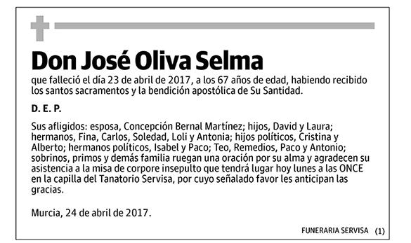 José Oliva Selma