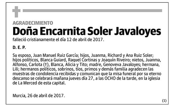 Encarnita Soler Javaloyes
