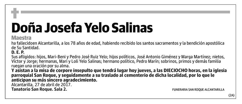 Josefa Yelo Salinas