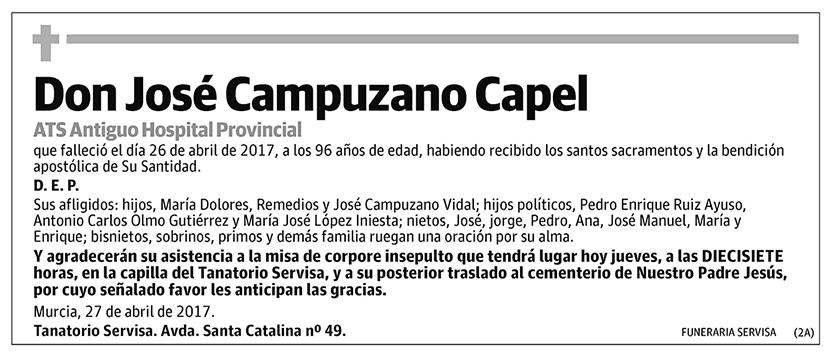 José Campuzano Capel