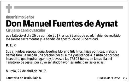Manuel Fuentes de Aynat