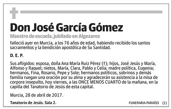 José García Gómez