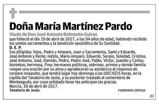 María Martínez Pardo