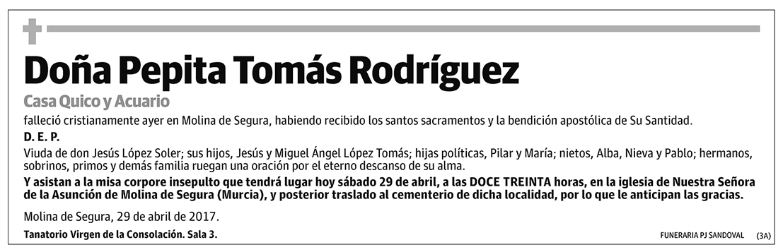 Pepita Tomás Rodríguez