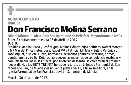 Francisco Molina Serrano