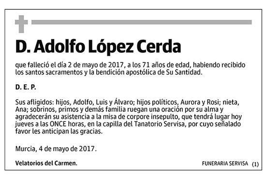 Adolfo López Cerda