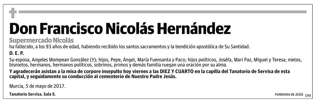 Francisco Nicolás Hernández