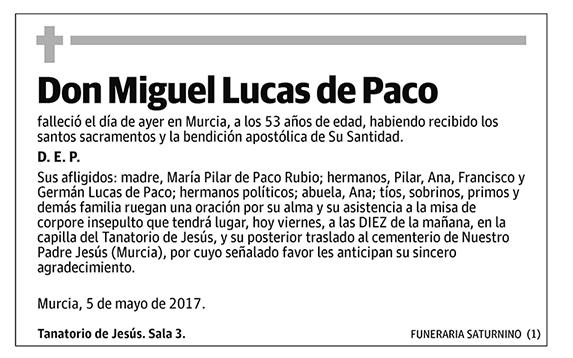 Miguel Lucas de Paco