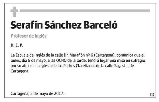 Serafín Sánchez Barceló