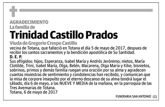 Trinidad Castillo Prados