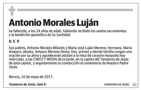 Antonio Morales Luján