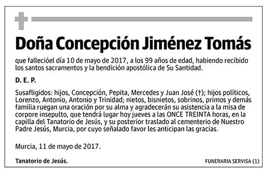 Concepción Jiménez Tomás
