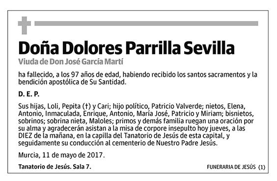 Dolores Parrilla Sevilla