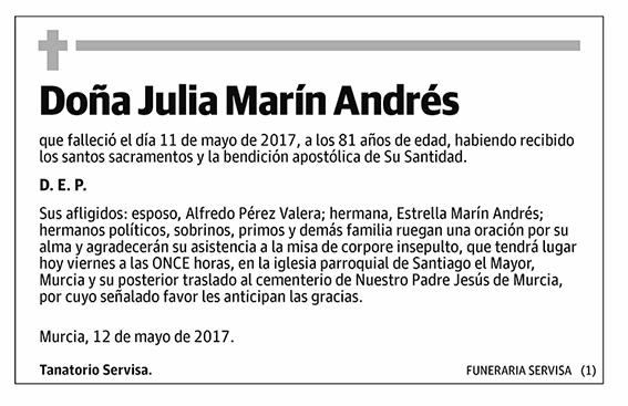 Julia Marín Andrés
