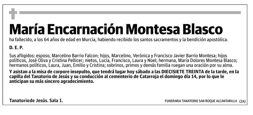 María Encarnación Montesa Blasco