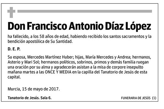 Francisco Antonio Díaz López