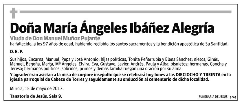 María Ángeles Ibáñez Alegría