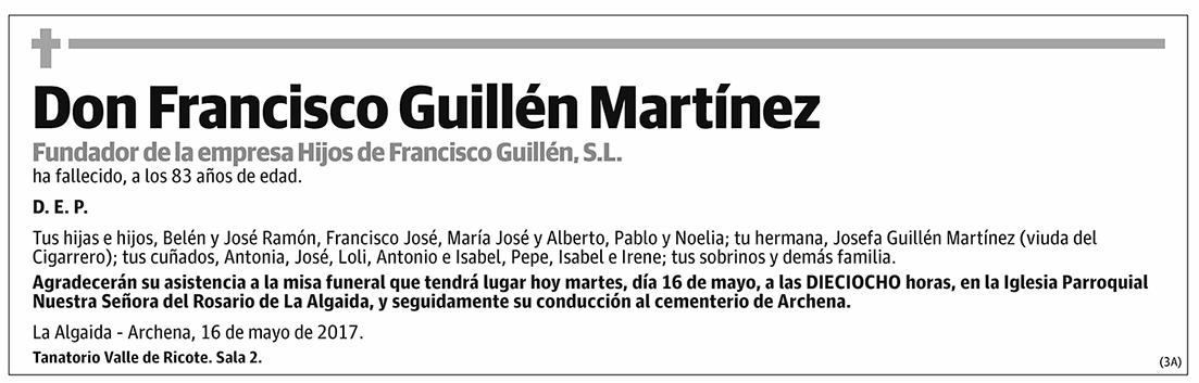 Francisco Guillén Martínez