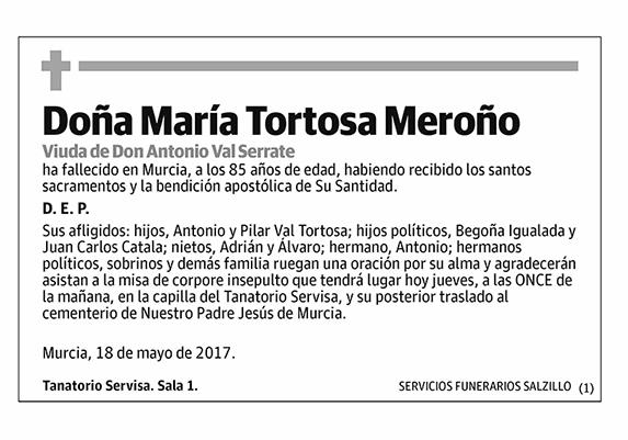 María Tortosa Meroño