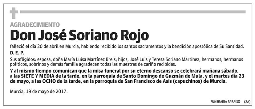 José Soriano Rojo
