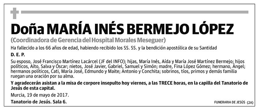 María Inés Bermejo López