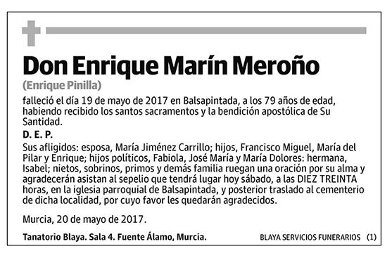 Enrique Marín Meroño