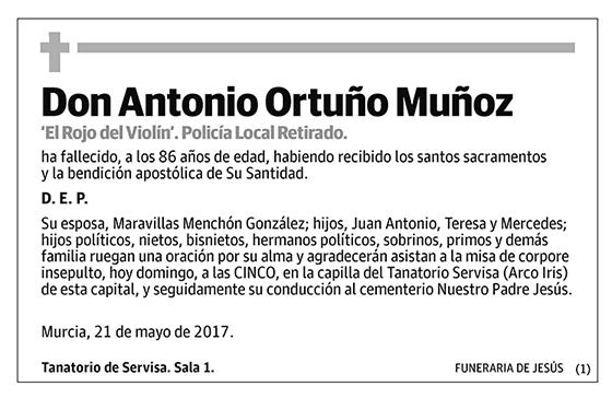 Antonio Ortuño Muñoz