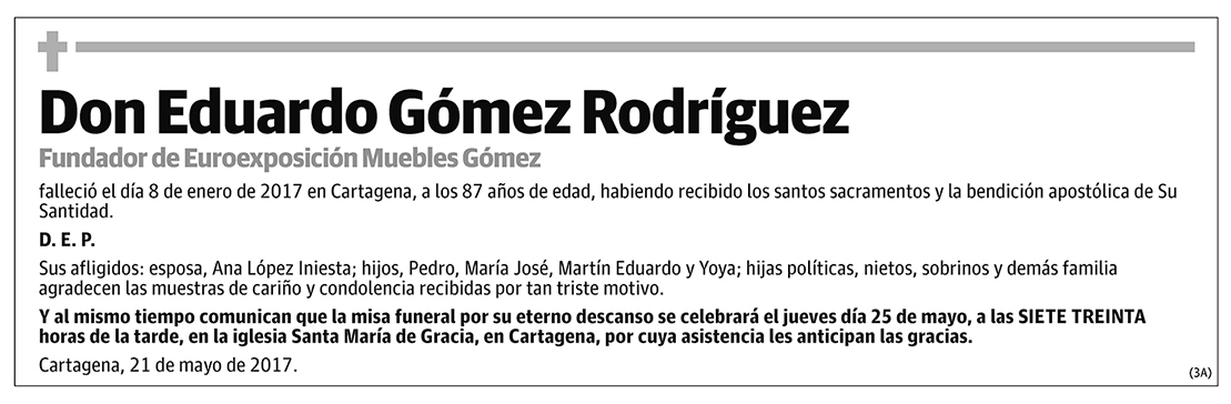 Eduardo Gómez Rodríguez