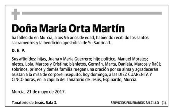 María Orta Martín