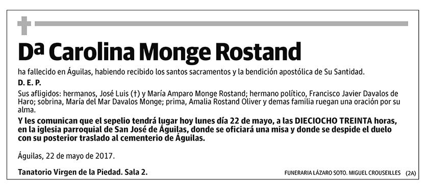 Carolina Monge Rostand