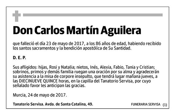 Carlos Martín Aguilera