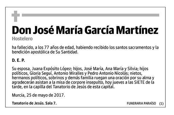 José María García Martínez