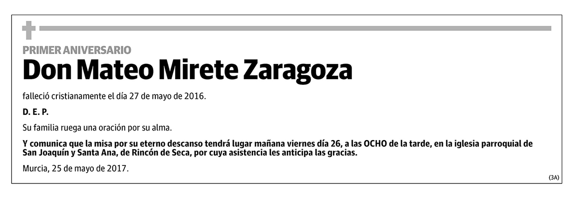 Mateo Mirete Zaragoza