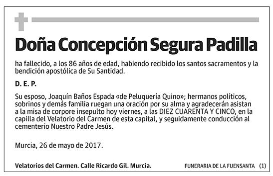 Concepción Segura Padilla