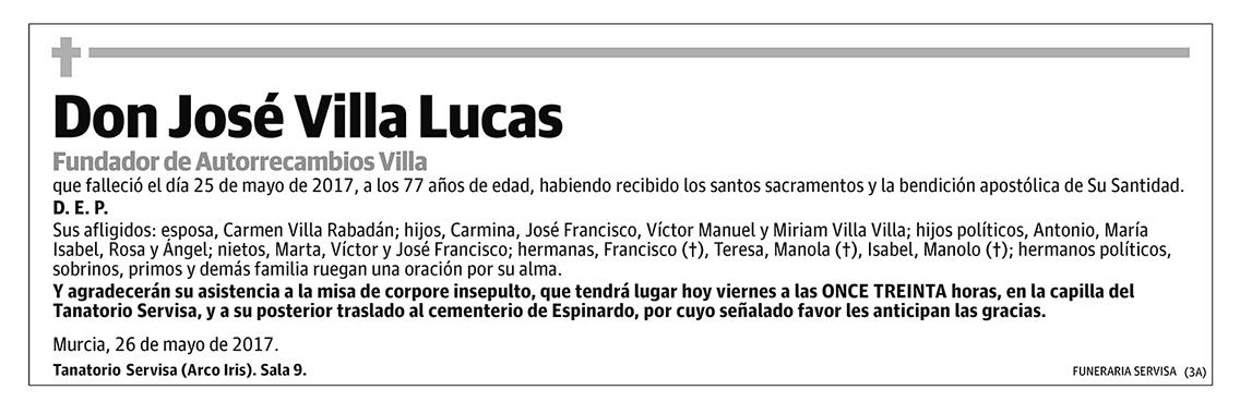 José Villa Lucas