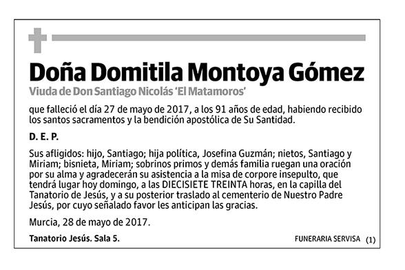 Domitila Montoya Gómez