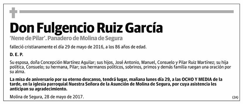 Fulgencio Ruiz García