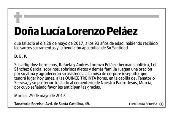Lucía Lorenzo Peláez