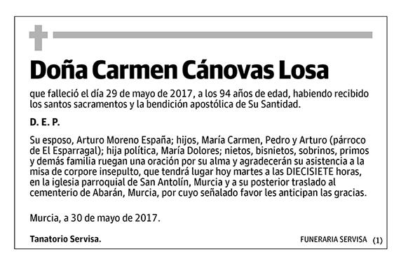 Carmen Cánovas Losa