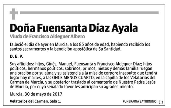 Fuensanta Díaz Ayala