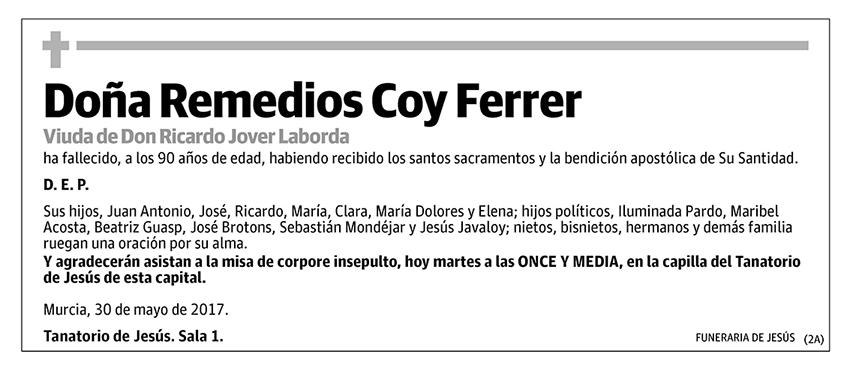 Remedios Coy Ferrer