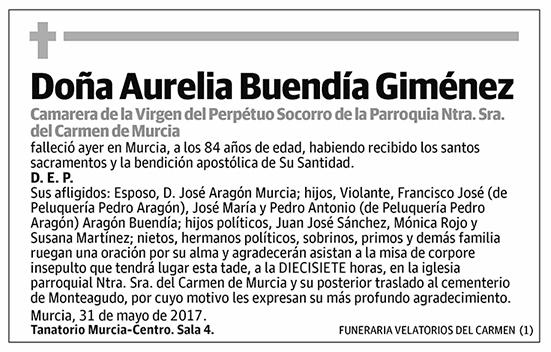 Aurelia Buendía Giménez