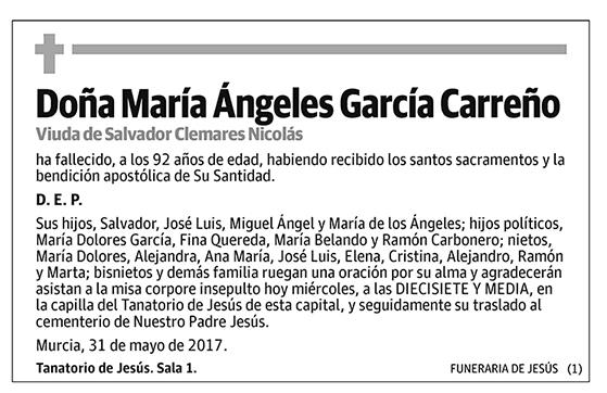 María Ángeles García Carreño