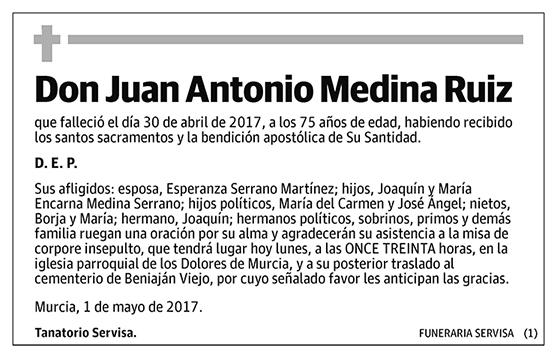 Juan Antonio Medina Ruiz